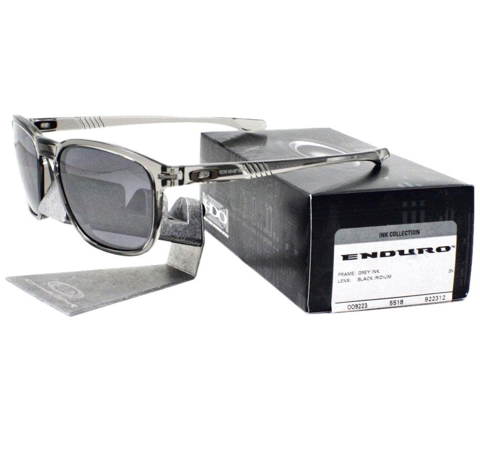 Oakley OO 9223-12 INK COLLECTION ENDURO Grey Ink Black Iridium Mens ... 535c2c1875