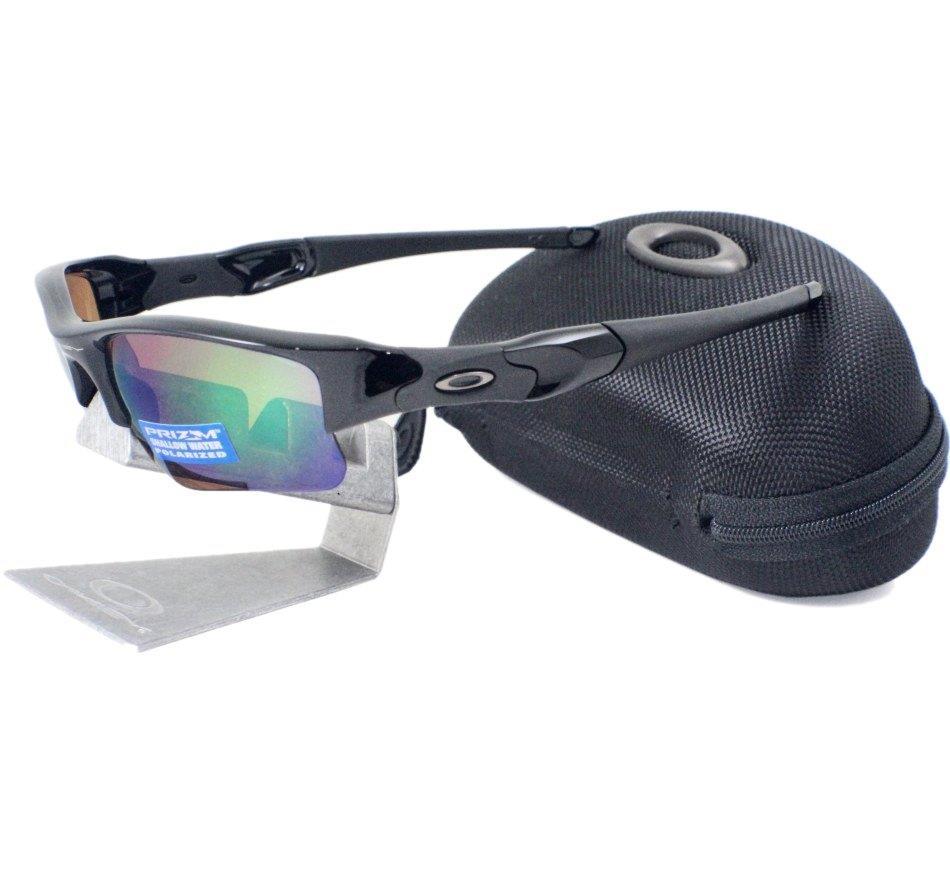 5f0d23bbf0 Oakley OO 9009-09 POLARIZED FLAK JACKET XLJ Prizm Shallow Water H20  Sunglasses