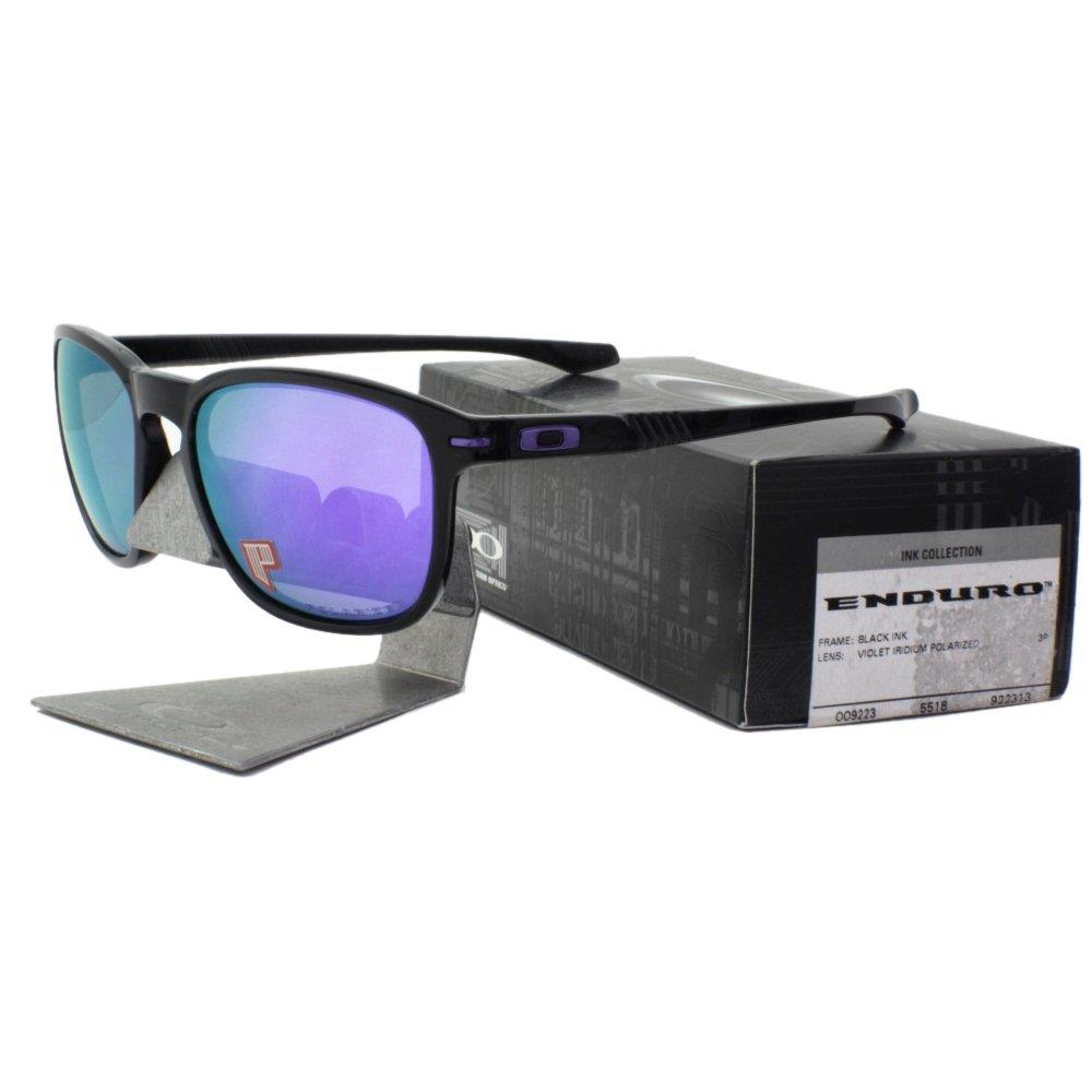 c38ed5dc1bb Please read our terms and conditions before bidding on or buying any of our  products. Click to Enlarge. Oakley Enduro Sunglasses Black Ink Frame with  Violet ...