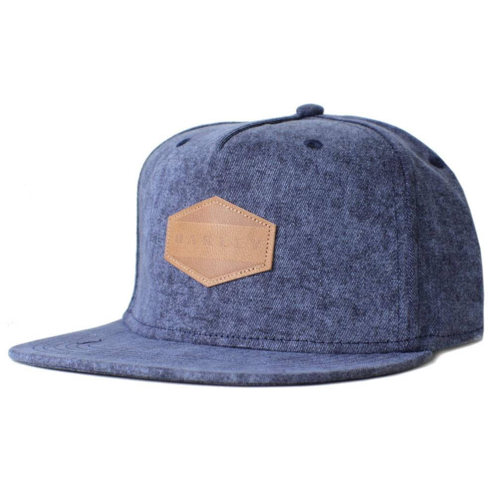 Oakley Drone Acid Cap Blue Denim Snapback Adjustable ...
