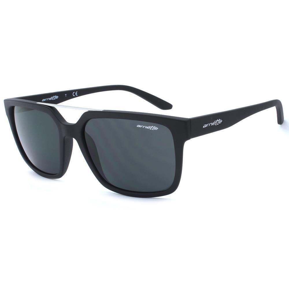 651eb859f69 Details about Arnette AN 4231 01 81 PETROLHEAD Mens Matte Black Grey Lens  New Sunglasses