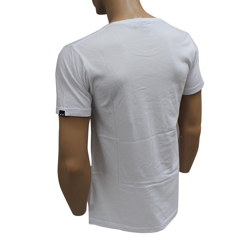 Oakley Holocaust T Shirt Size S Small White Mens Slim Fit