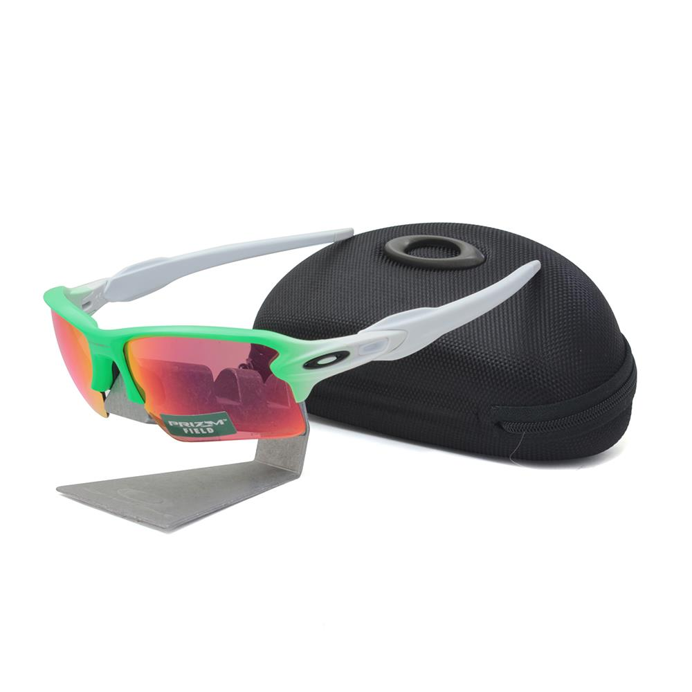 Details about Oakley OO 9188-43 FLAK 2.0 XL Green Fade with Prizm Field  Lens Mens Sunglasses d4346c12c2