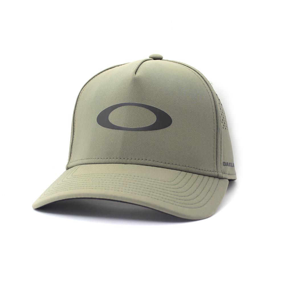 Details about Oakley CROSSOVER HALO Adjustable Trucker Cap Dark Brush Olive  Mens Baseball Hat 34aa32c8e04