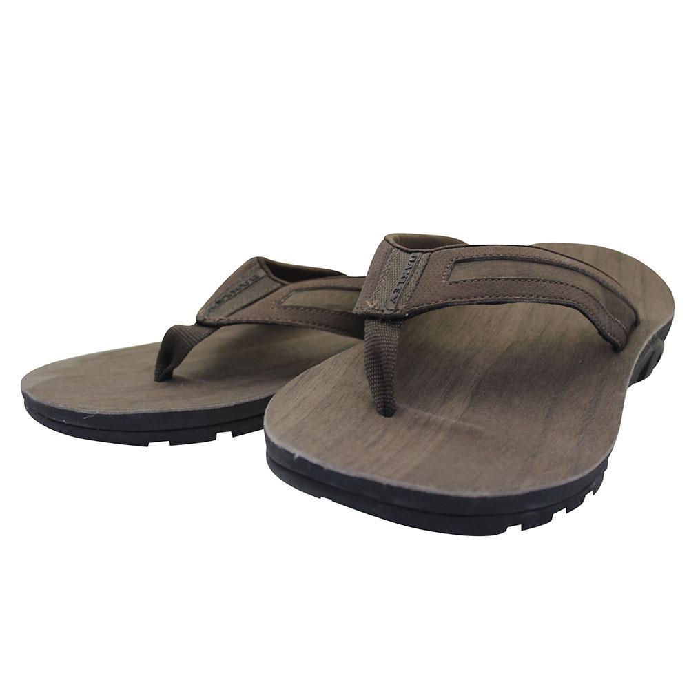 0488eb03b57 Oakley METHANE Sandals Size 9 US Earth Brown Mens Flip Flop Casual ...