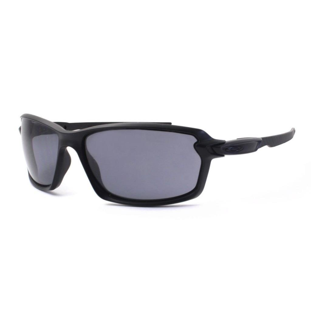 f79e84495588a Details about Oakley OO 9302-01 CARBON SHIFT Matte Black with Grey Mens  Sunglasses .