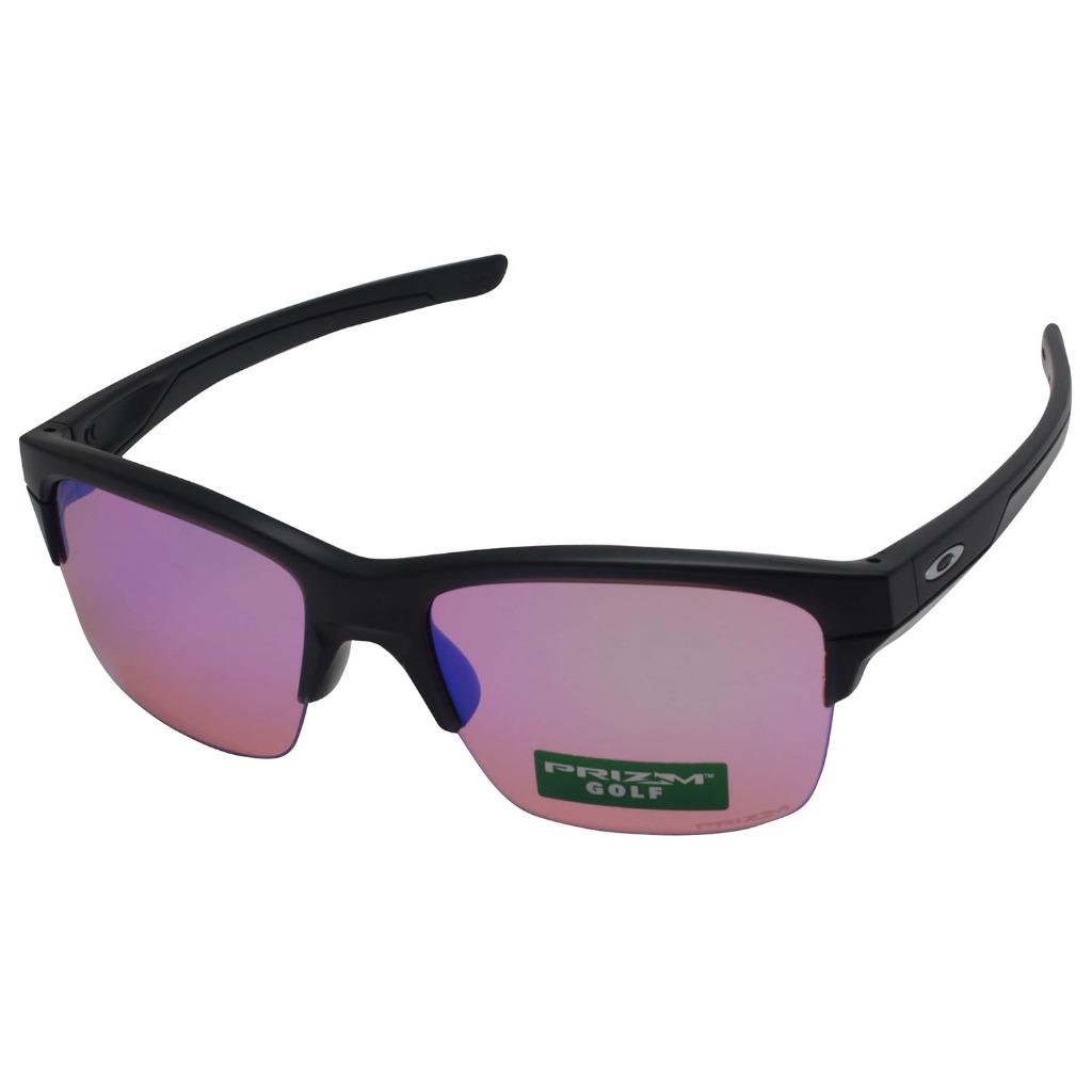 a17ab59775 Details about Oakley OO 9316-05 THINLINK Matte Black Prizm Golf Mirror Lens  Mens Sunglasses .