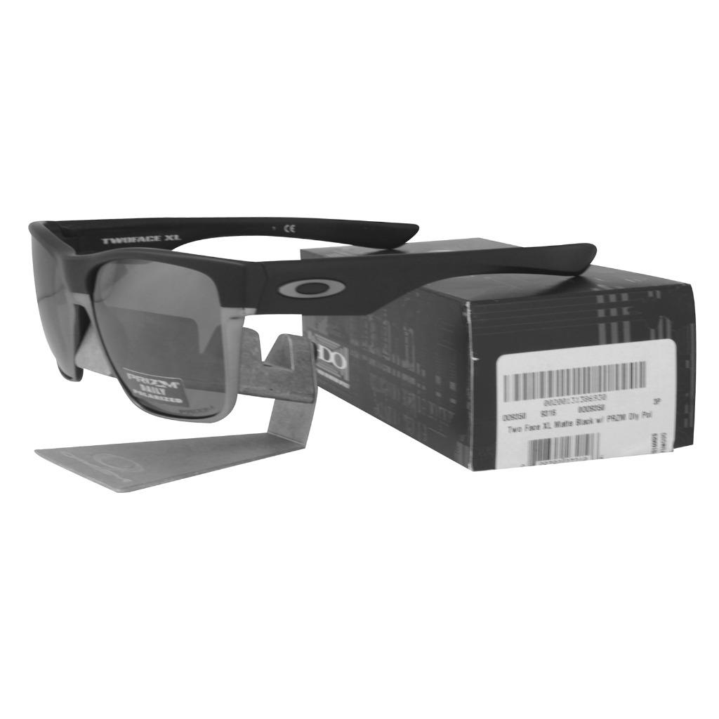 3e9ef7480f552 Oakley OO 9350-02 POLARIZED TWO FACE XL Matte Black Prizm Daily ...