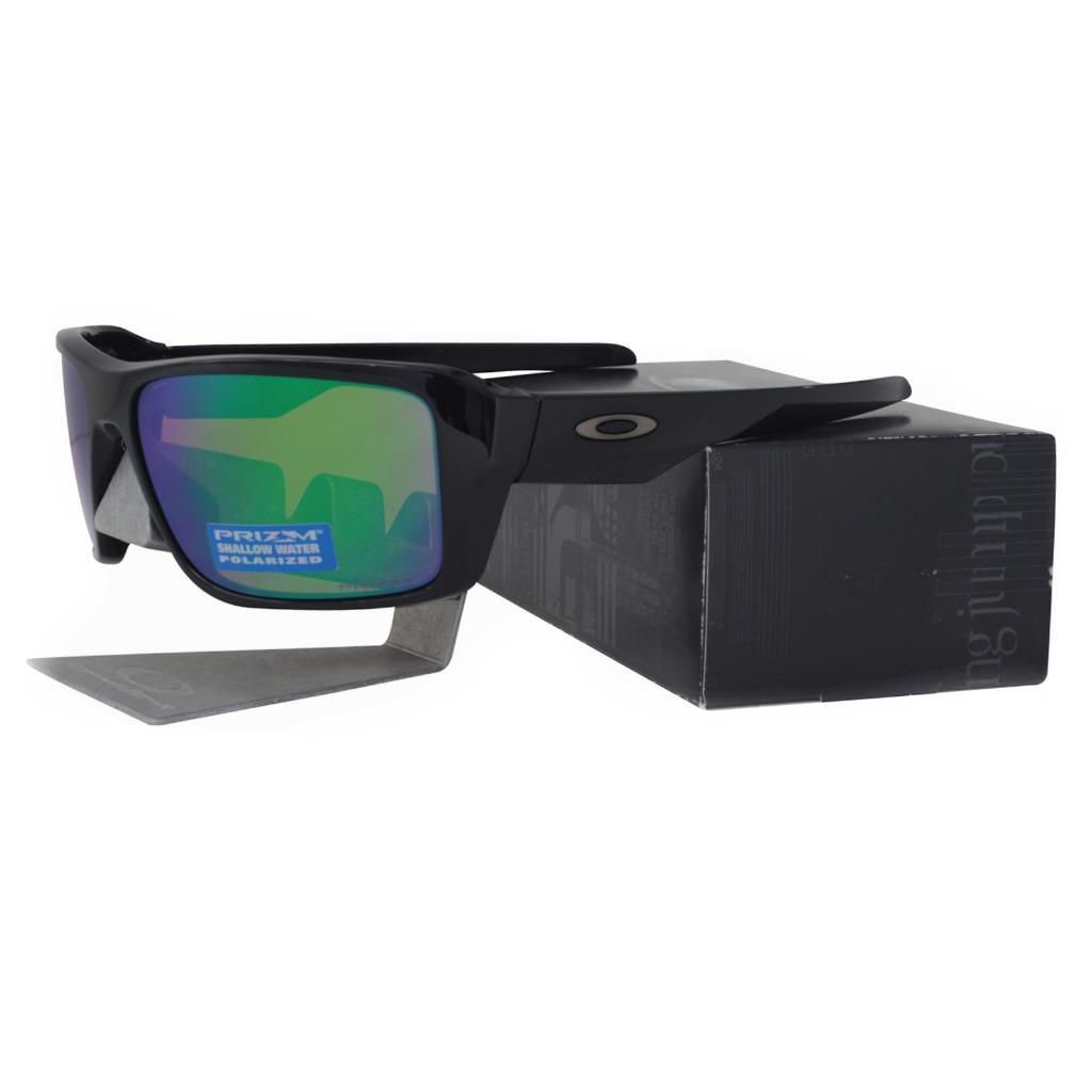 fd0092290c Details about Oakley OO 9380-1466 POLARIZED DOUBLE EDGE Prizm Shallow Water  H2O Sunglasses .