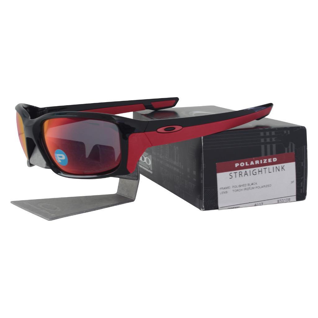 7c59d1b3ef2 Description. Oakley Straightlink Sunglasses Brand  Oakley Model   Straightlink SKU  OO9331-08. Frame  Polished Black Lens  Torch Iridium  Polarized  Yes