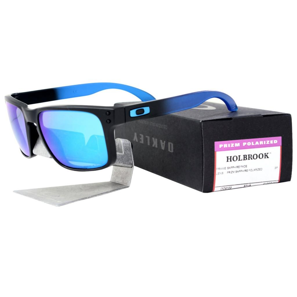 f5028d8bf44 Description. Oakley Holbrook Sunglasses Sapphire Fade Collection Brand   Oakley Model  Holbrook SKU  OO9102-D255 Frame  Sapphire Fade Lens  Prizm ...