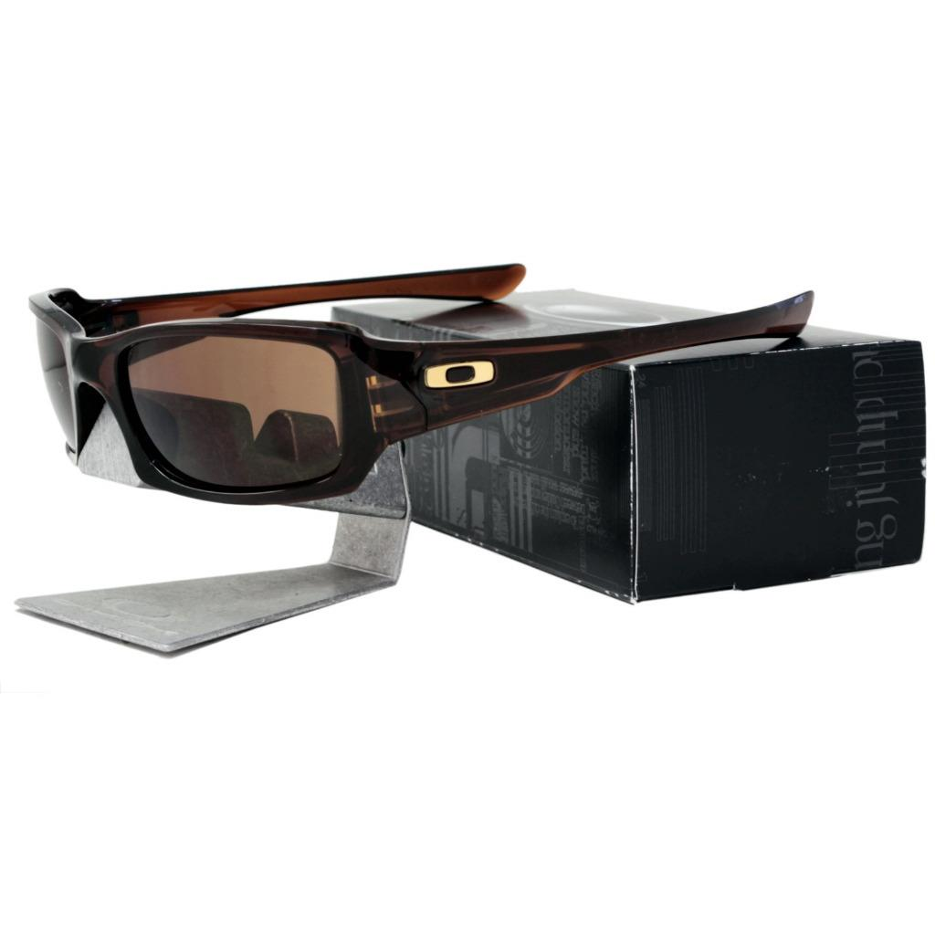 df3f42ae8c Details about Oakley OO 9238-07 FIVES SQUARED Polished Rootbeer Dark Bronze  Mens Sunglasses