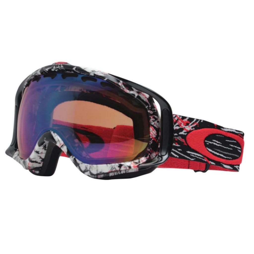 6e972f5ad0c2a Description. Oakley Crowbar Snow Goggles Seth Morrison Signature Series