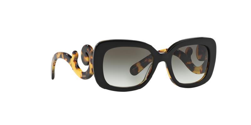 NEW Genuine Prada Gradient Sunglasses PRADA SPR 27OS NAI-0A7 Black Blonde Havana