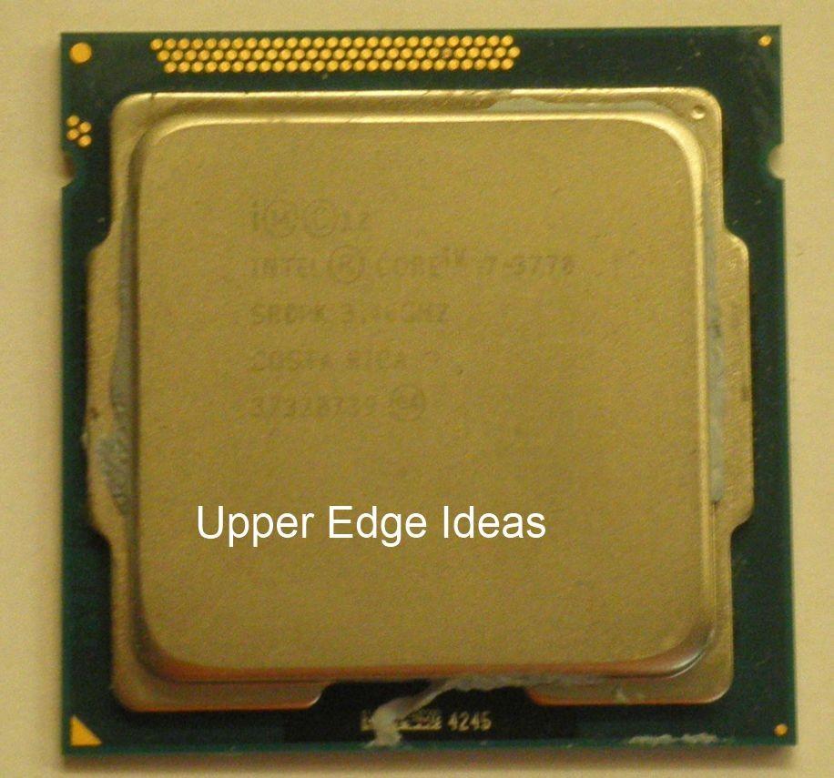 Intel Quad Core i7-3770 Ivy Bridge 3.4GHz 8MB LGA 1155 CPU Processor SR0PK | eBay