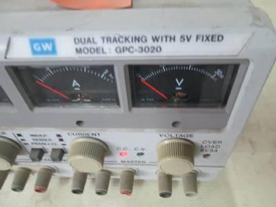 Gw Instek Gpc 3020 Laboratory Dc Power Supply Dual