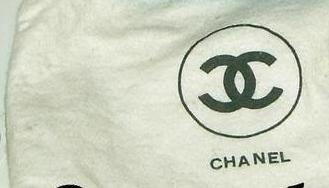 bb08f0ae107e New models come in black dustbag stamped with the word Chanel. Material  should be made in a kind of rather coarse cotton. I have seen a fake one  with ...