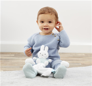 Miffy Mint Cuddle Comforter CAN PERSONALISE Baby Shower Gift   FAST DISPATCH