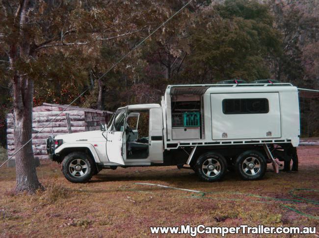 da7de76705e224 Camper Trailer - Slide-On Camper Trailer
