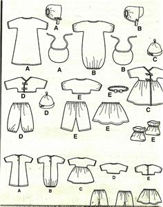 Baby Alive Dolls Clothes Patterns Sewing Patterns For Baby