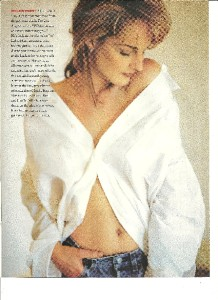 Helen Hunt Beautiful Sexy Full Page Pinup Clipping
