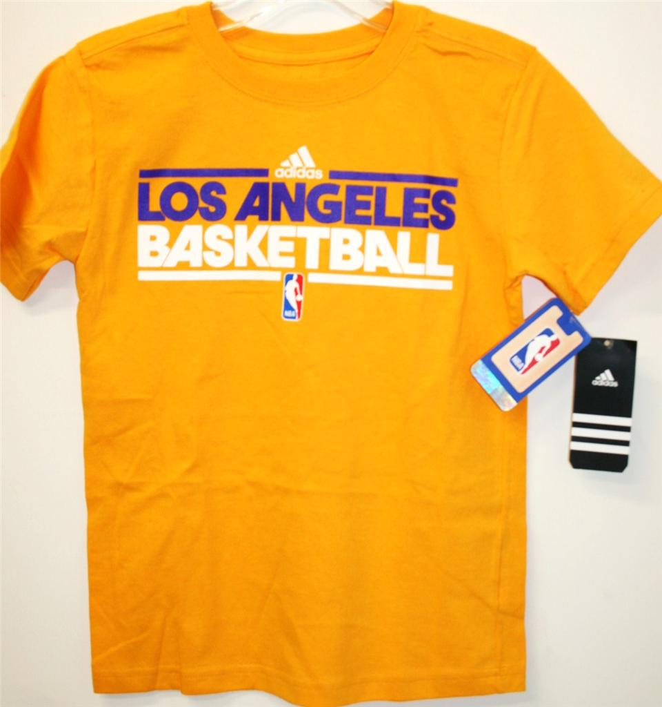 adidas Los Angeles Lakers NBA Playoffs Basketball Youth ...