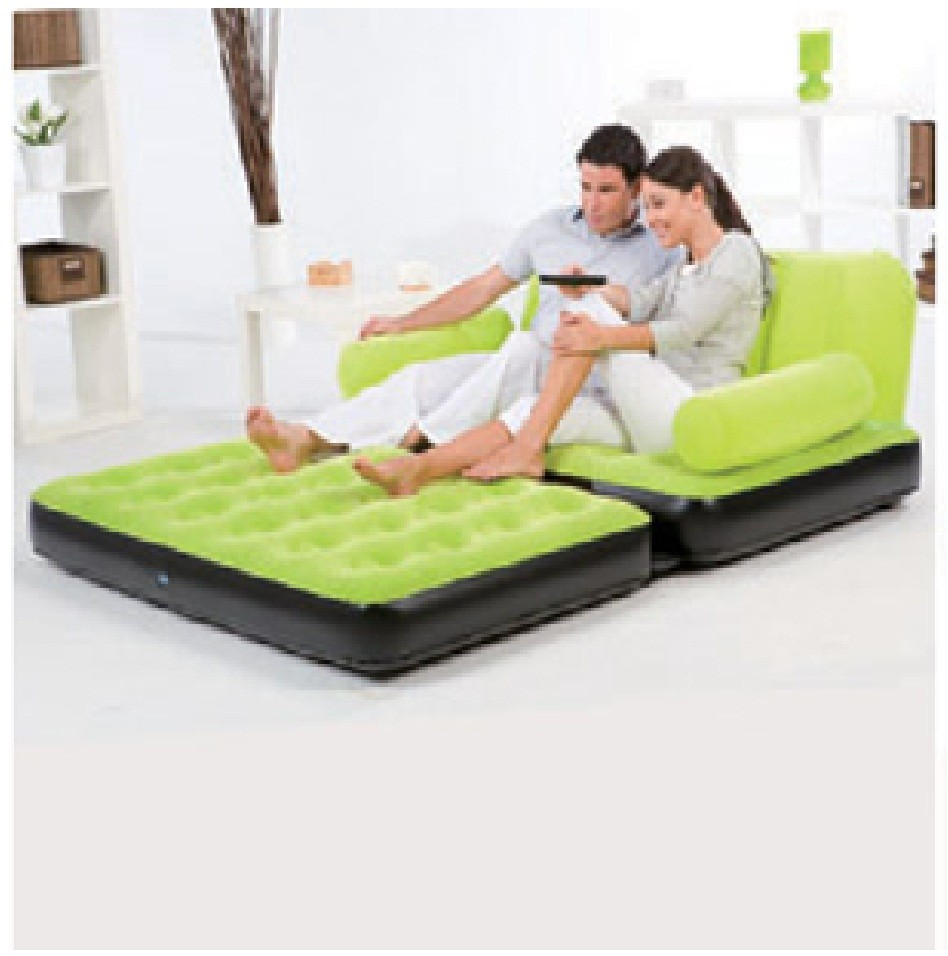 BESTWAY INFLATABLE MULTI FUNCTIONAL AIRBED CHAIR SOFA COUCH TV CAMPING MATTRESS | eBay