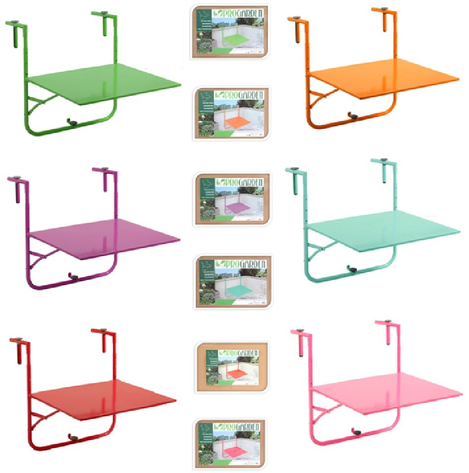 Hanging Tables: NEW ADJUSTABLE GARDEN PATIO BALCONY FOLDING WALL HANGING