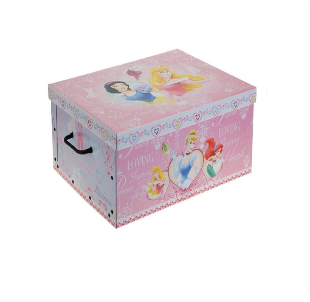 Decorative Boxes Uk: DISNEY DECORATIVE CARDBOARD STORAGE BOX BEDROOM UNDERBED