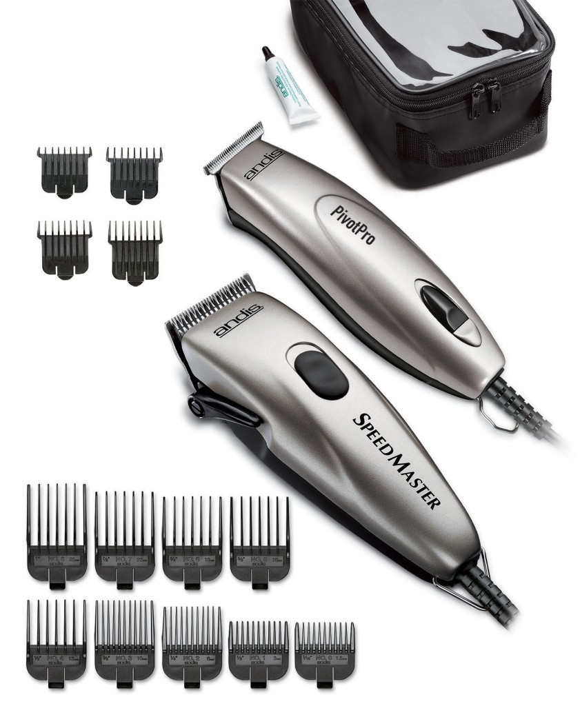 Andis Professional Speed Master Clipper + Pivot Pro ...
