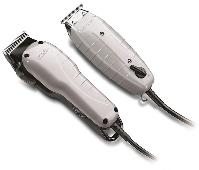 Andis Professional Barber Combo Powerful Clipper + T ...