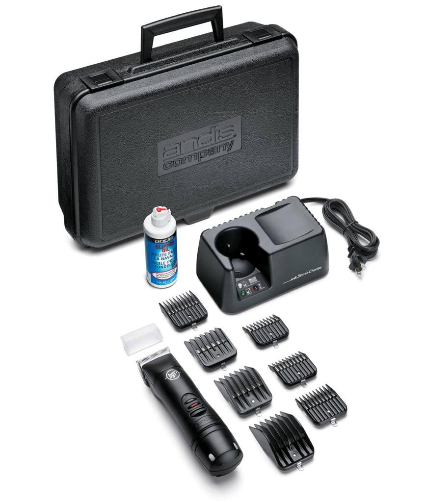 Andis BGR+ Professional Rechargeable Cordless Hair Clipper ...
