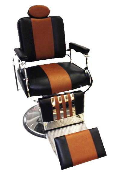 Description. High Quality Professional Hydraulic Barber Chair  sc 1 st  eBay & Professional Reclining Barber Chair Rare Two Tone Black Brown ...