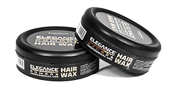 wax hair styling elegance transparent pomade hair styling wax strong hold 4570