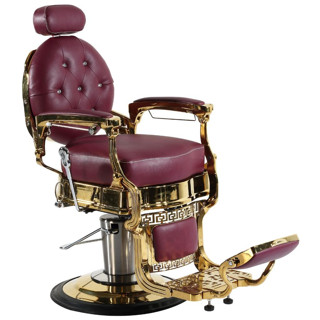 Professional High Quality Hydraulic Reclining Barber Chair Classic Vintage Style 2
