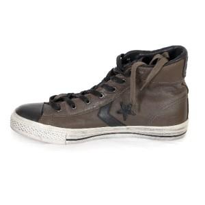 1dd003e34a33b3 Converse by John Varvatos Star Player Mid Dark Bronw High Top Leather