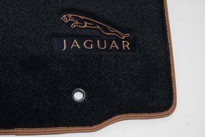 Genuine Jaguar Xj Lwb 2009 On Navy Blue Deep Pile Car