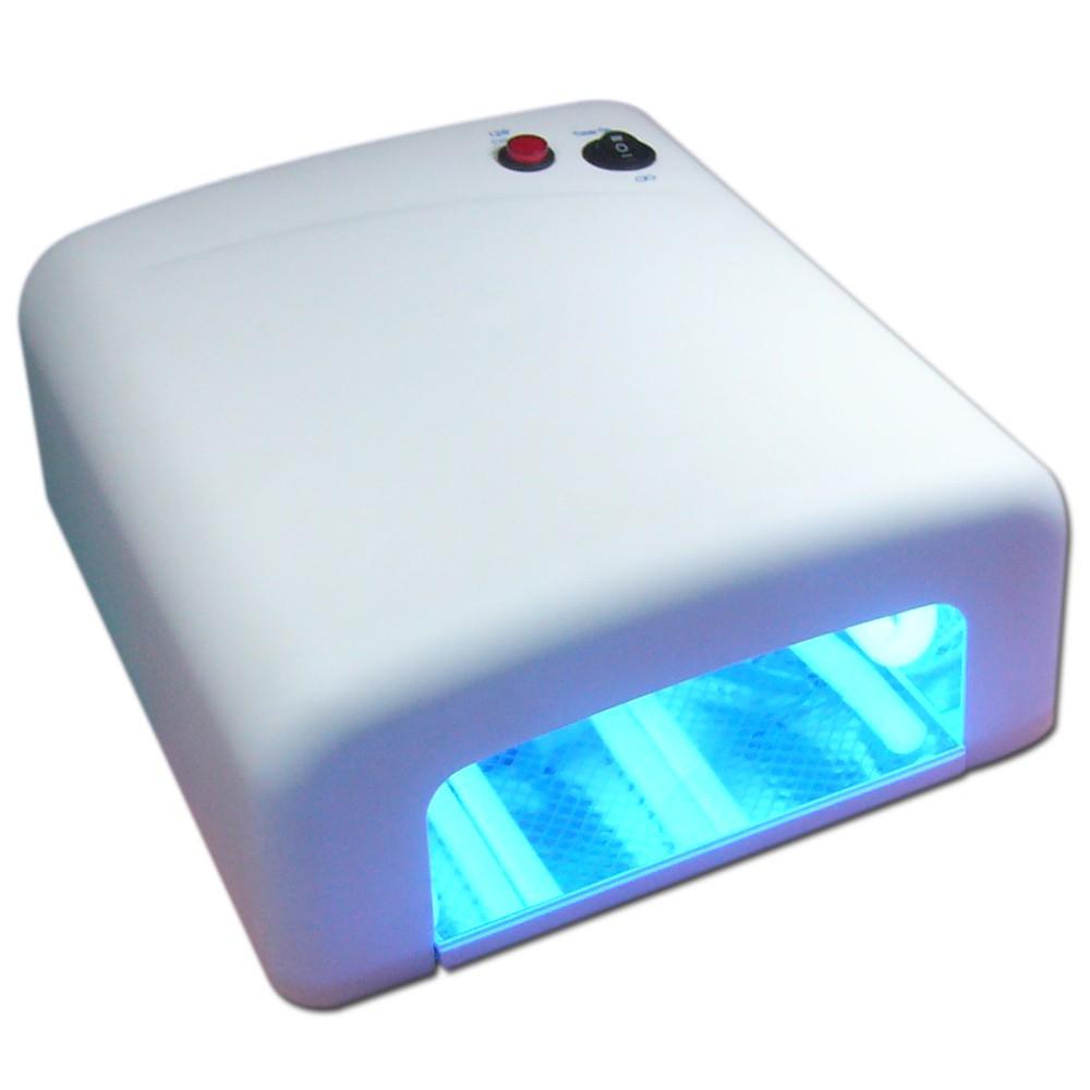 12w 36w 54w uv led light nail dryer lamp shellac gel curing timer ebay. Black Bedroom Furniture Sets. Home Design Ideas