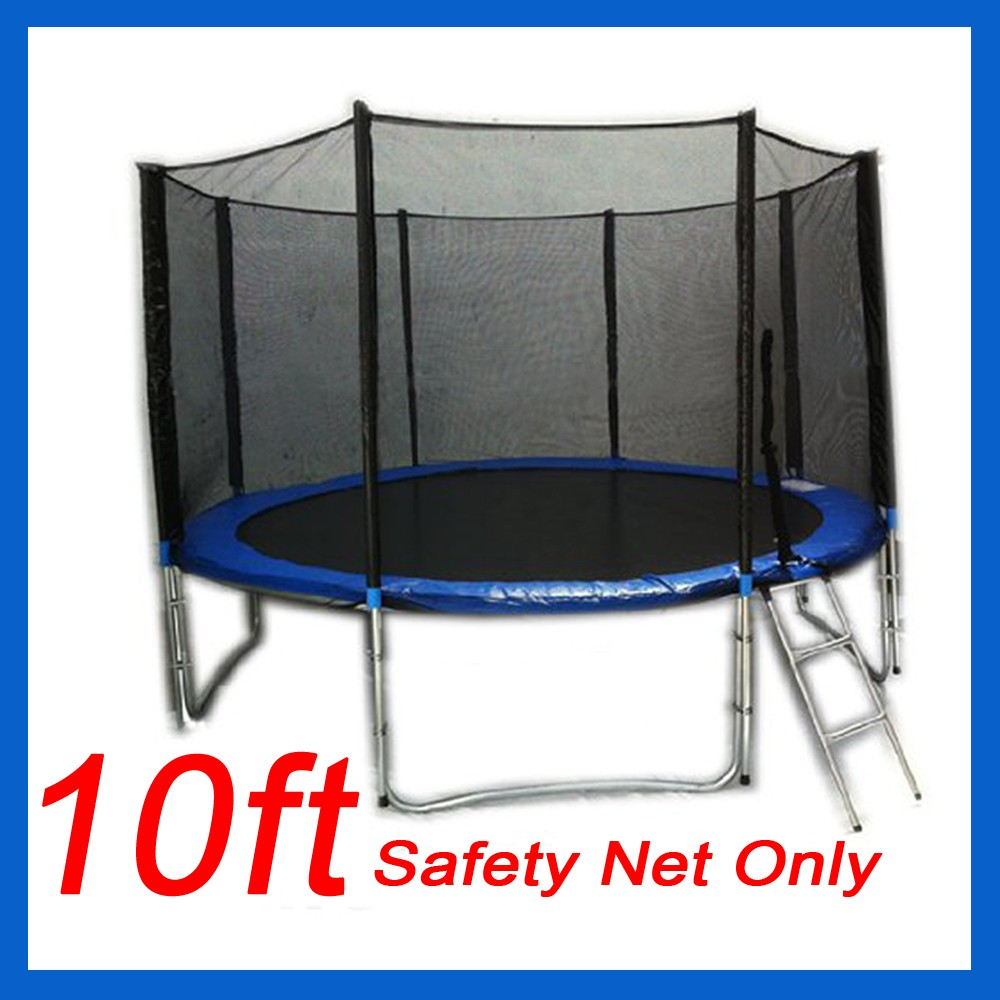 Trampoline Safety Net Replacement: 8,10,12,13,14FT REPLACEMENT TRAMPOLINE SAFETY NET PAD