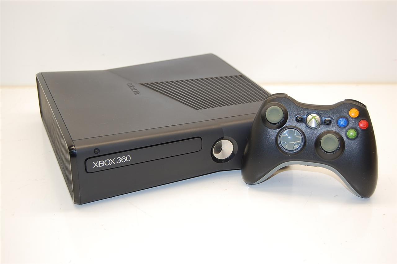 Microsoft Xbox 360 S 1439 250GB Game Console Matte Black ...