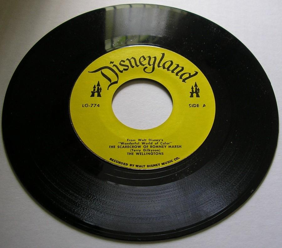 Usps Return Label >> 1960s Disney SCARECROW OF ROMNEY MARSH (Dr. SYN) 45 RPM ...