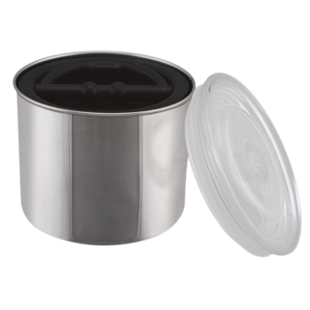 Airscape Kac 509 Chrome Air Coffee Food Storage Canister 32 Oz