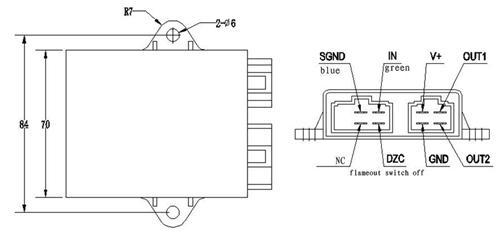 new digital ignition cdi box for yamaha virago vstar xv. Black Bedroom Furniture Sets. Home Design Ideas