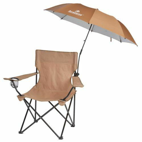 New Folding Umbrella Clamp On For Outdoor Chair Beach Campin