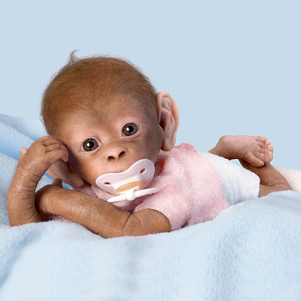Ashton Drake Coco So Truly Real Baby Monkey Doll By