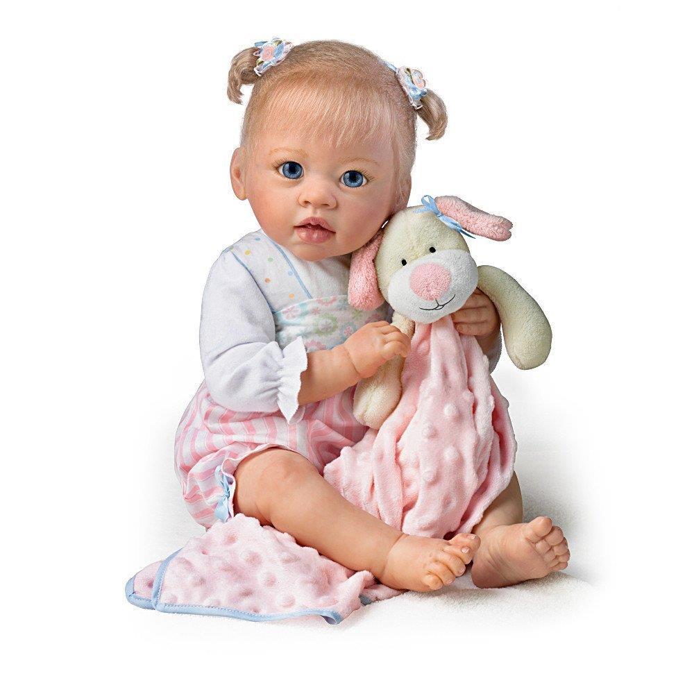 Ashton Drake Sleeping Beauty Doll: SLEEPYTIME EMMA Baby Gril Doll By Linda