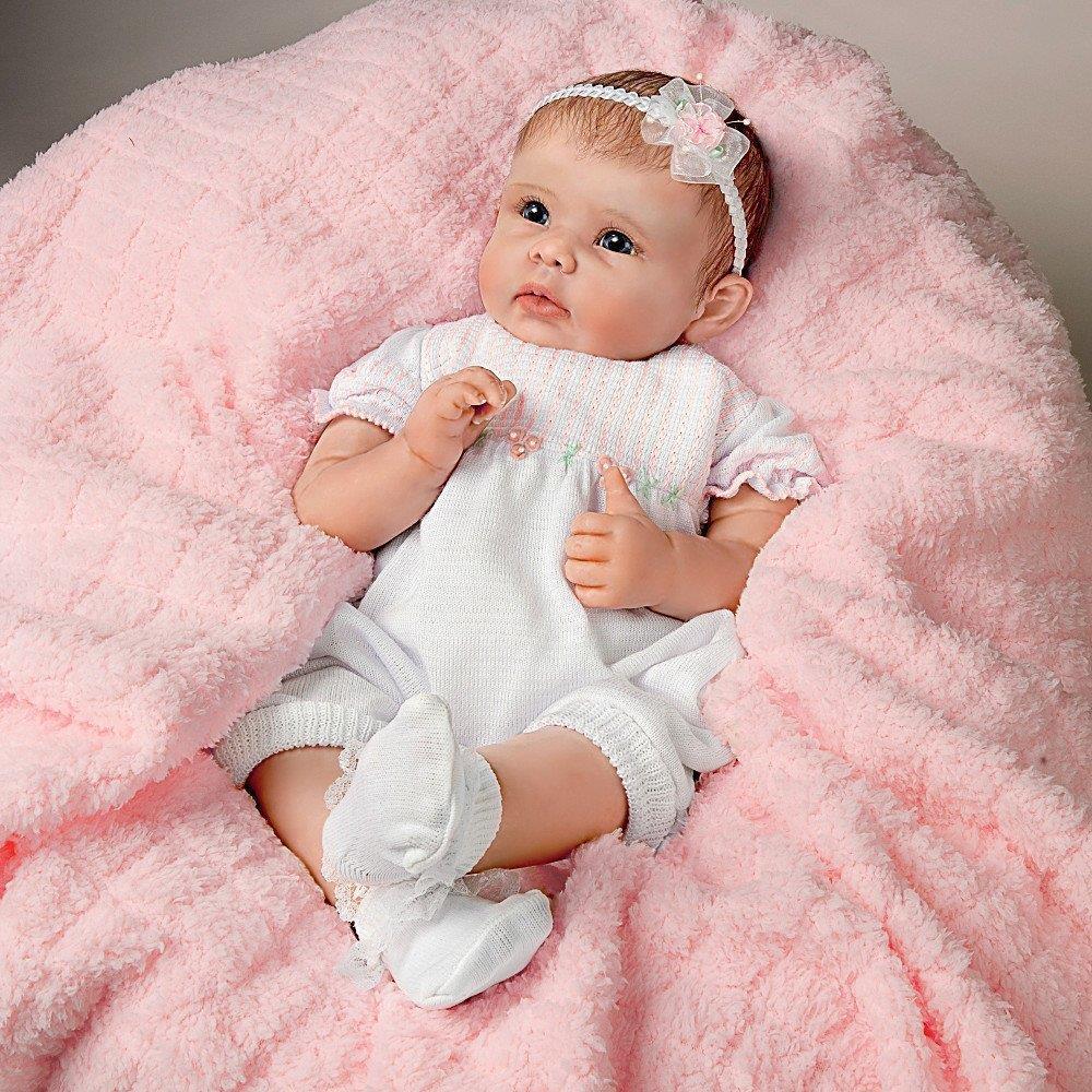 Ashton Drake Interactive Baby Doll By Linda Murray