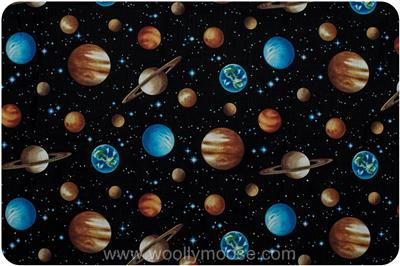 3/4 YARD Benartex SPACE The New Frontier PLANETS Solar ...
