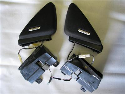 ford mustang mach 460 sound speakers door pair 39 94 39 04 ebay. Black Bedroom Furniture Sets. Home Design Ideas