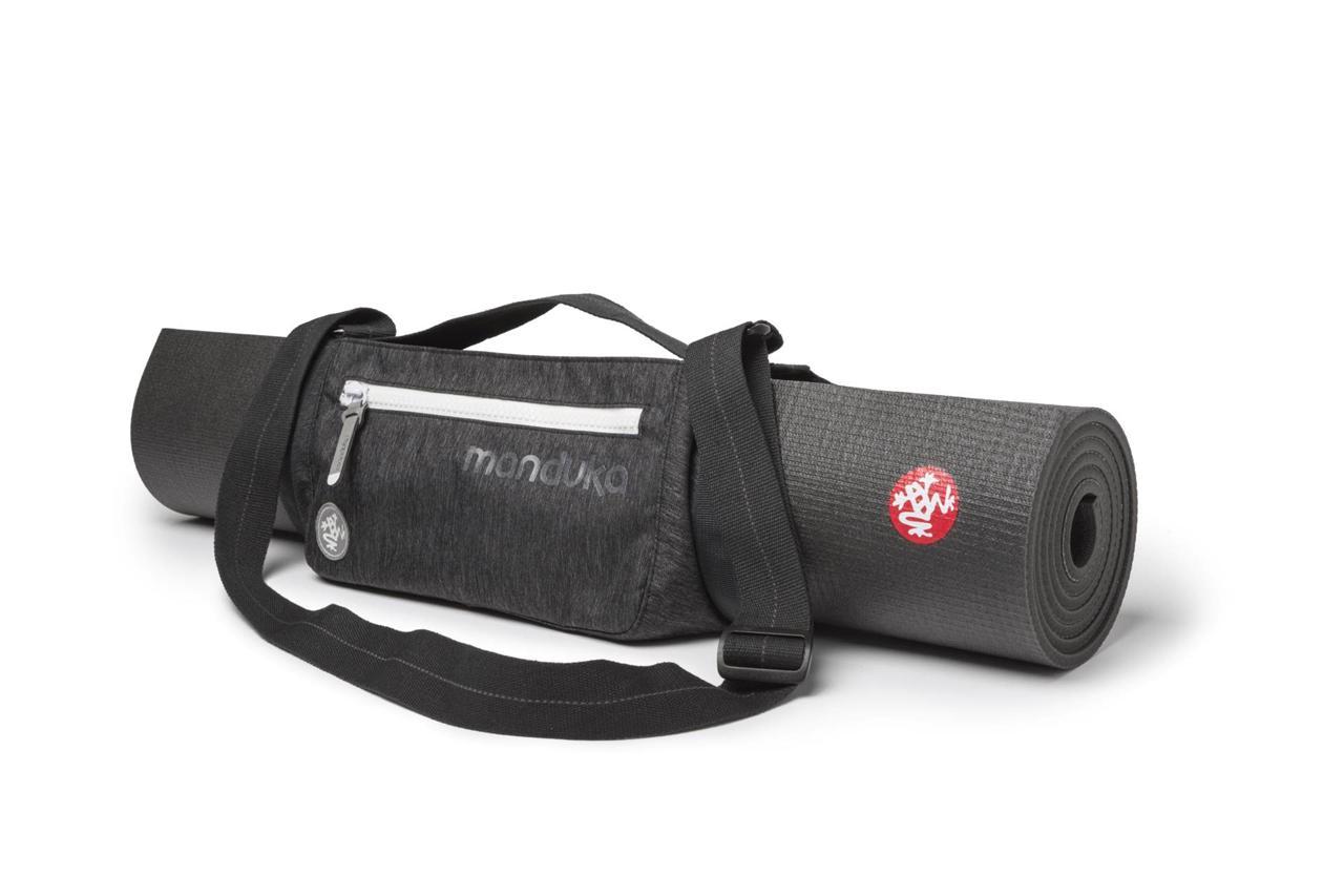 Manduka Yoga Mat Sling Go Play Black Mat Carrier W Extra